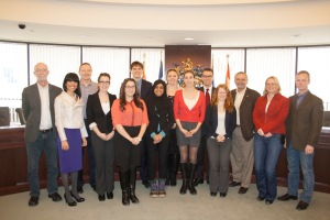 Interns with the Chartered Accountants of Ontario.